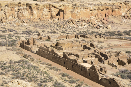 kiva: Chetro Ketl ruins, Chaco Canyon, New Mexico, USA
