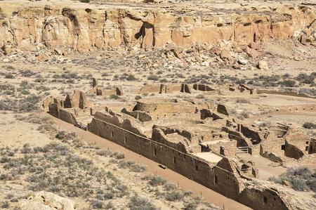 Chetro Ketl ruins, Chaco Canyon, New Mexico, USA