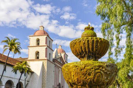 barbara: Old Mission Santa Barbara, California Stock Photo