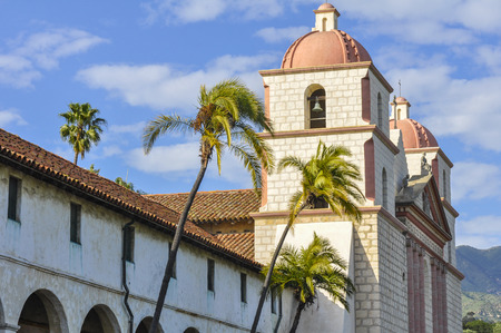 barbara: Old Mission Santa Barbara, California Stock Photo