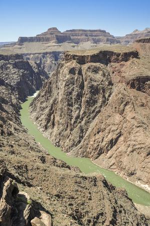 plateau point: Colorado River from Plateau Point ,South Rim, Arizona