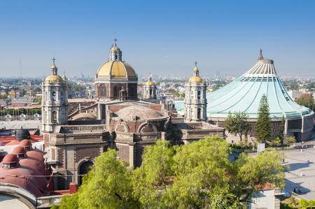 メキシコシティのグアダルーペの聖母の神社