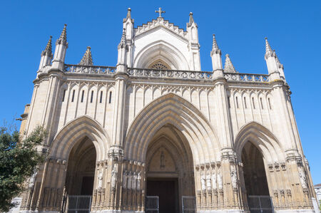 alava: New Cathedral of Vitoria, Basque Country, Spain