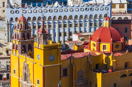 our: Basilica of Our Lady of Guanajuato, Mexico