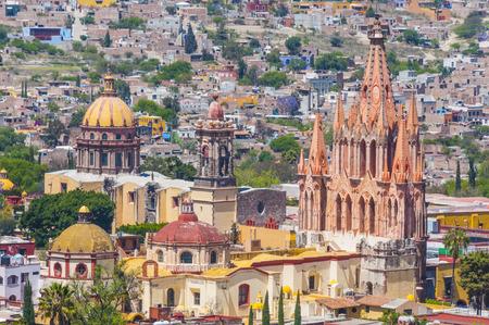 san rafael: Church of San Miguel Arcangel, San Miguel De Allende, Mexico