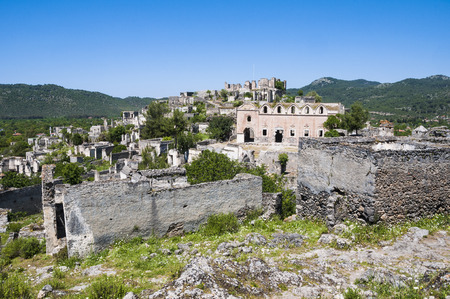 vanish: Ghost town of Kayakoy, Turkey