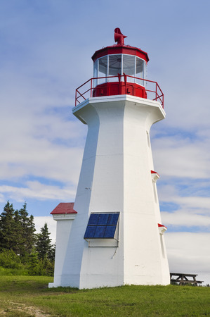 quebec: Cape Gaspe lighthouse in Quebec, Canada