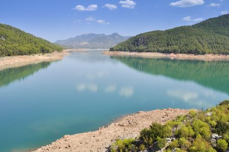 Reservoir of El Tranco, Jaen, Spain