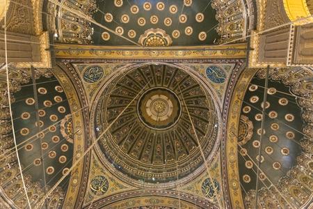 muhammad: Inside of the mosque of Muhammad Ali, Saladin Citadel of Cairo, Egypt