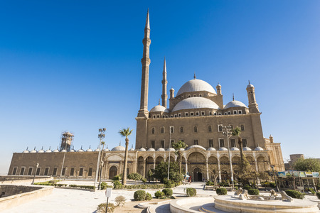 Mosque of Muhammad Ali, Saladin Citadel of Cairo, Egypt Stock Photo