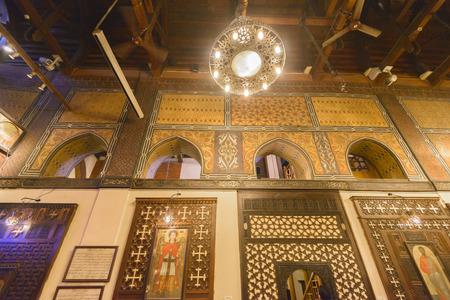 Hanging Church of Coptic Cairo, Egypt