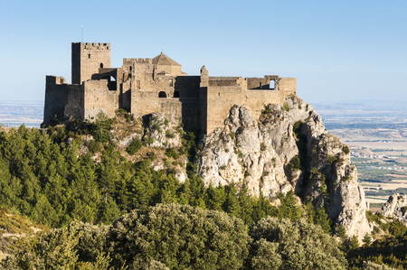 huesca: Loarre castle, Huesca, Spain Editorial