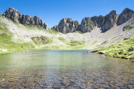 Acherito lake, Pyrenees, Spain photo