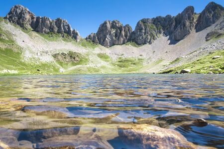 Acherito lake, Pyrenees, Spain photo
