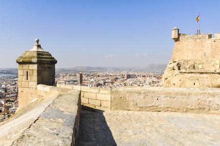 santa barbara: Castle of Santa Barbara, Alicante, Spain