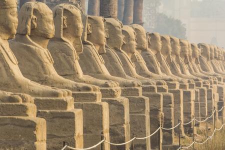 Avenida de los Sphnixs, Templo de Luxor, Egipto