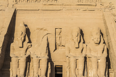 The Great Temple of Abu Simbel, Egypt photo