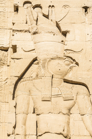 godhead: Wall carving, the temple of Isis from Philae, Egypt