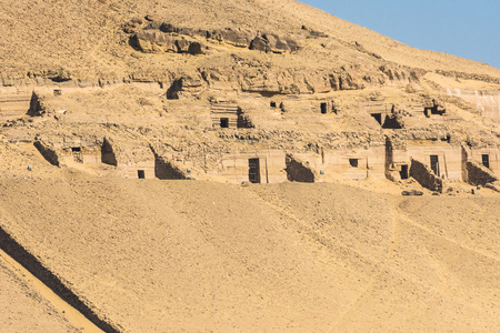 tumbas: Tumbas de los Nobles en Asu�n, Egipto
