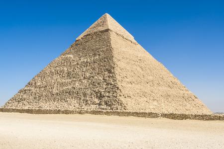 chephren: Pyramid of Khafre, Giza, Egypt