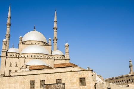 ali: Mosque of Muhammad Ali, Saladin Citadel of Cairo, Egypt Stock Photo