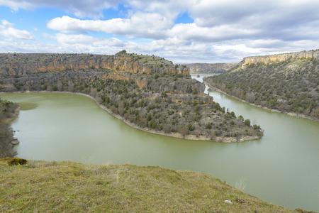 segovia: Duraton Canyon Natural Park in Segovia, Spain