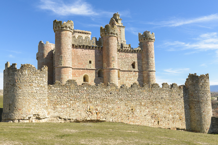 segovia: Castle of Turegano, Segovia, Spain Editorial