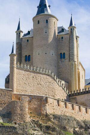 alcazar: The Alcazar of Segovia, Spain