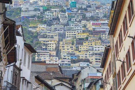 suburbs: Suburbs of Quito, Ecuador