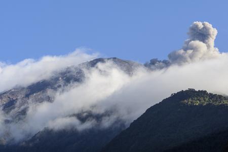 strombolian: Tungurahua volcano, Ecuador Stock Photo
