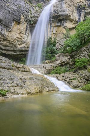 navarre: Artazul Waterfall Navarre Spain