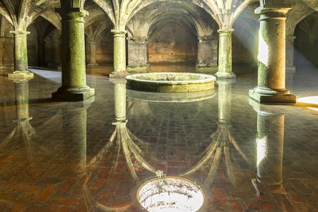cisterna: Cisterna portuguesa en El Jadida Marruecos