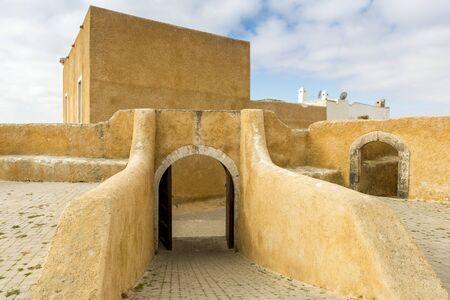 citadel: The Portuguese citadel of Mazagan El Jadida Morocco