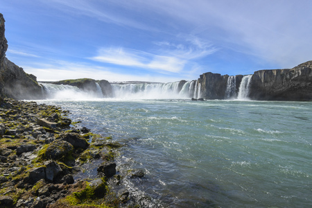 north cascade national park: Godafoss waterfall North Iceland