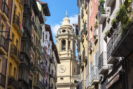 saint mary: The Cathedral of Royal Saint Mary of Pamplona, Spain