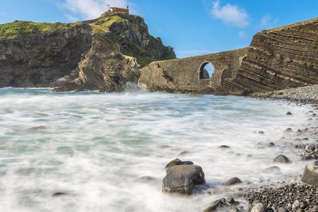 basque country: San Juan de Gaztelugatxe, Basque Country, Spain Stock Photo
