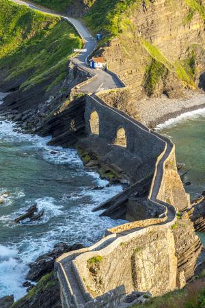 staircases: Path to San Juan de Gaztelugatxe, Spain