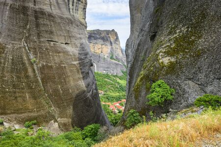 thessaly: Meteora mountains in Thessaly, Greece
