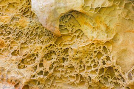 basque country: Sandstone in Jaizkibel, Basque Country, Spain