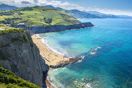 Cliffs of Zumaia, Basque Country, Spain