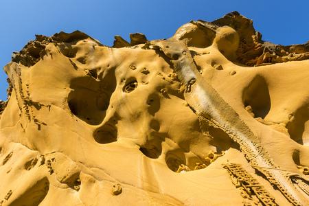 sediments: Sandstone in Jaizkibel, Basque Country, Spain
