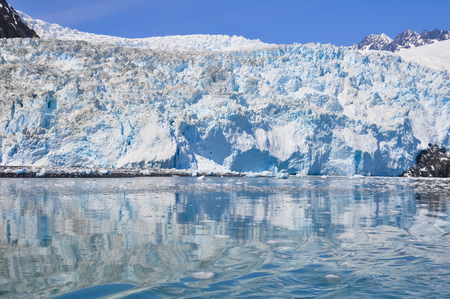 fjords: Aialik glacier, Kenai Fjords National Park, Alaska