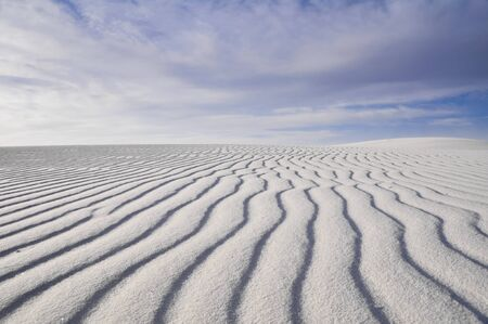 hummock: White Sands National Monument, New Mexico, USA Stock Photo