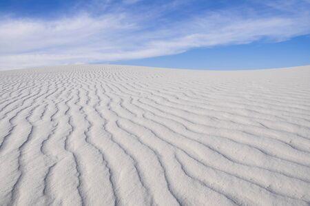 White Sands National Monument, Nouveau-Mexique, États-Unis Banque d'images - 49752560