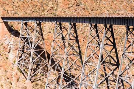 ancient pass: The Polvorilla viaduct in the Northwest of Argentina
