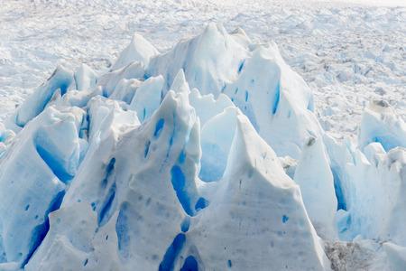 proficient: Detail of Perito Moreno glacier in Los Glaciares National Park, Argentina