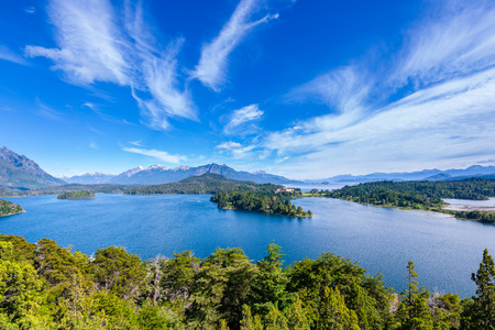 lake nahuel huapi: Nahuel Huapi lake, Bariloche, Argentina