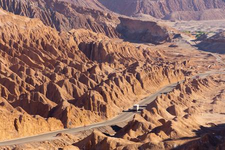 san pedro: Salt Mountain Range, San Pedro de Atacama, Chile Editorial
