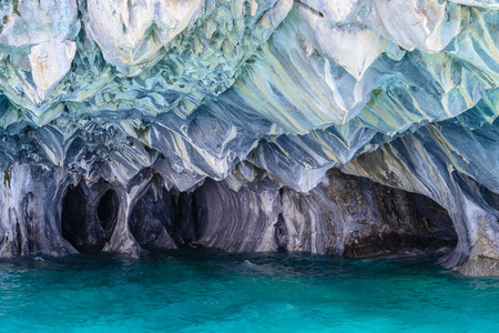 Marble Caves of Lake General Carrera, Chile
