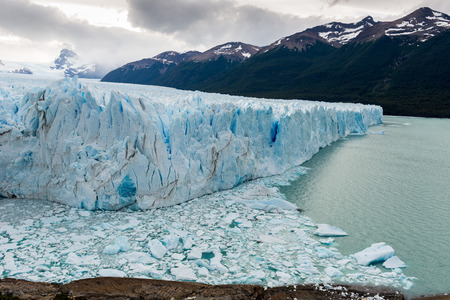 proficient: Perito Moreno glacier in Los Glaciares National Park, Argentina